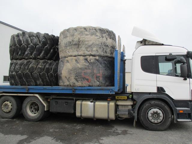Livraison-enlevement de pneu